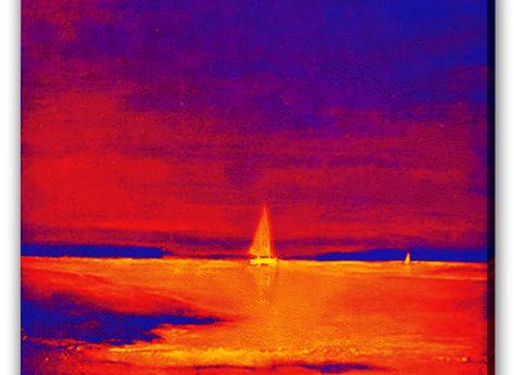 Red Night at Sea