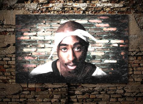 Tupac Canvasprint