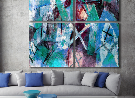 Abstract Painting - Freedom