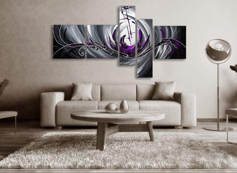 Abstract The Purple Sea
