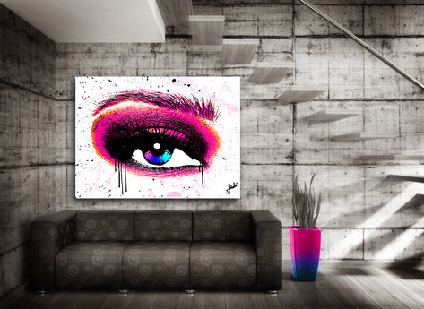 Cry Me a River Canvasprint