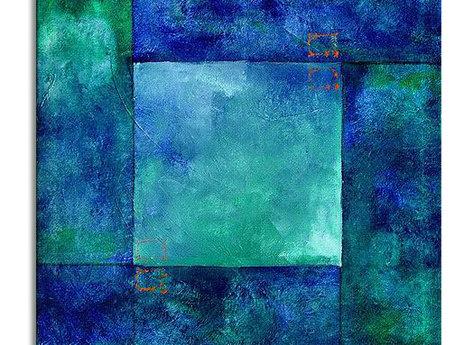 Abstract Santorini