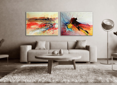 Abstract painting Toowoomba