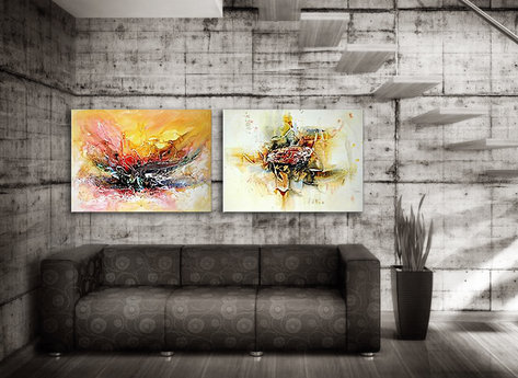 Abstract painting Gold Coast