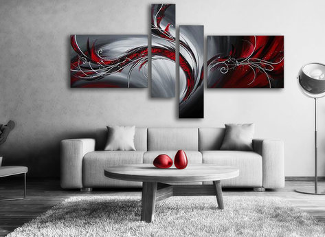Abstract Red Phoenix